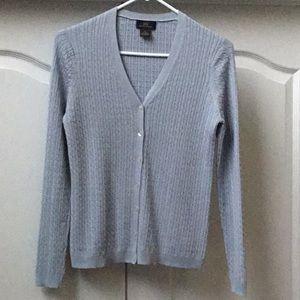 Brooks Brothers 346 Silk/Cashmere Cardigan Size: S